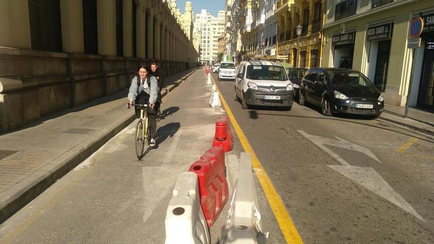 Los vecinos critican los carriles bici sin apoyo popular