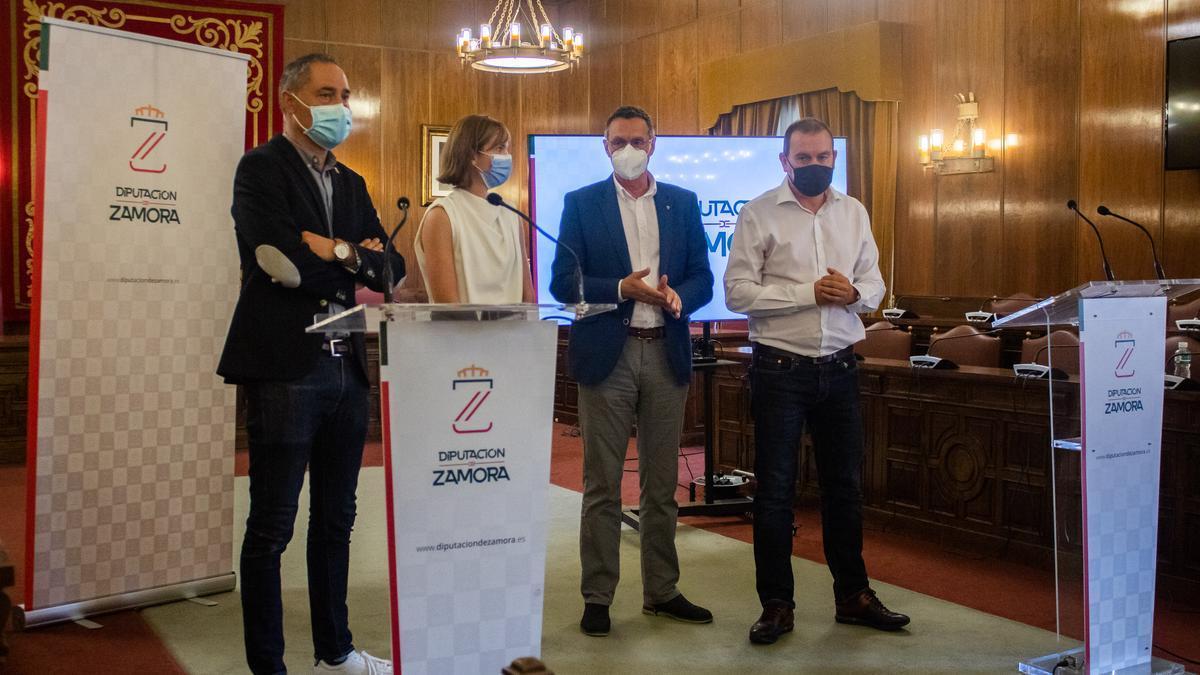 Presentación del Encuentro Mundial del Queso en Zamora.