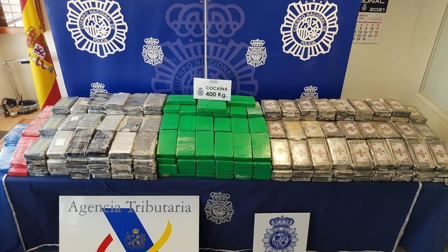 Intervenidos 378 kilos de cocaína enviados por error a empresa de Valladolid
