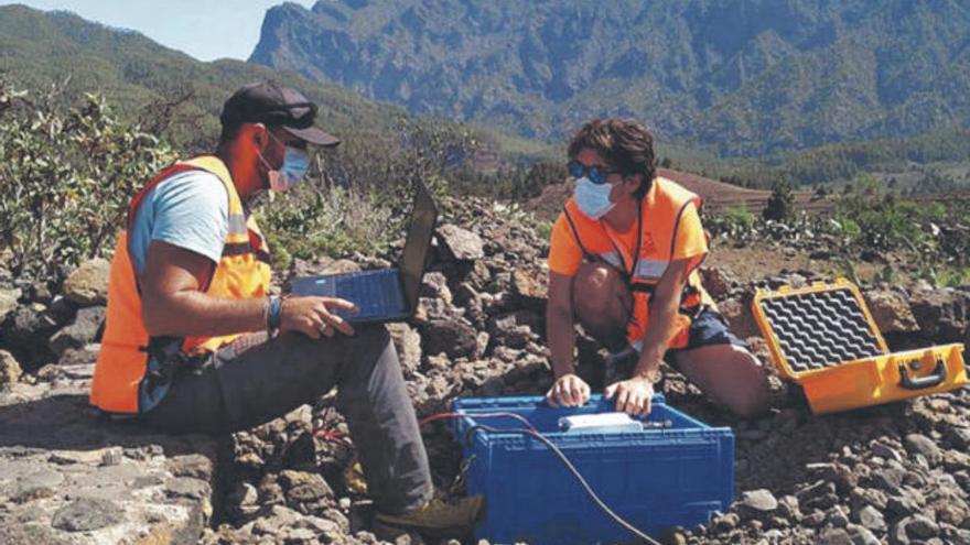 El Involcan registra seis seísmos cerca del volcán Cumbre Vieja en La Palma