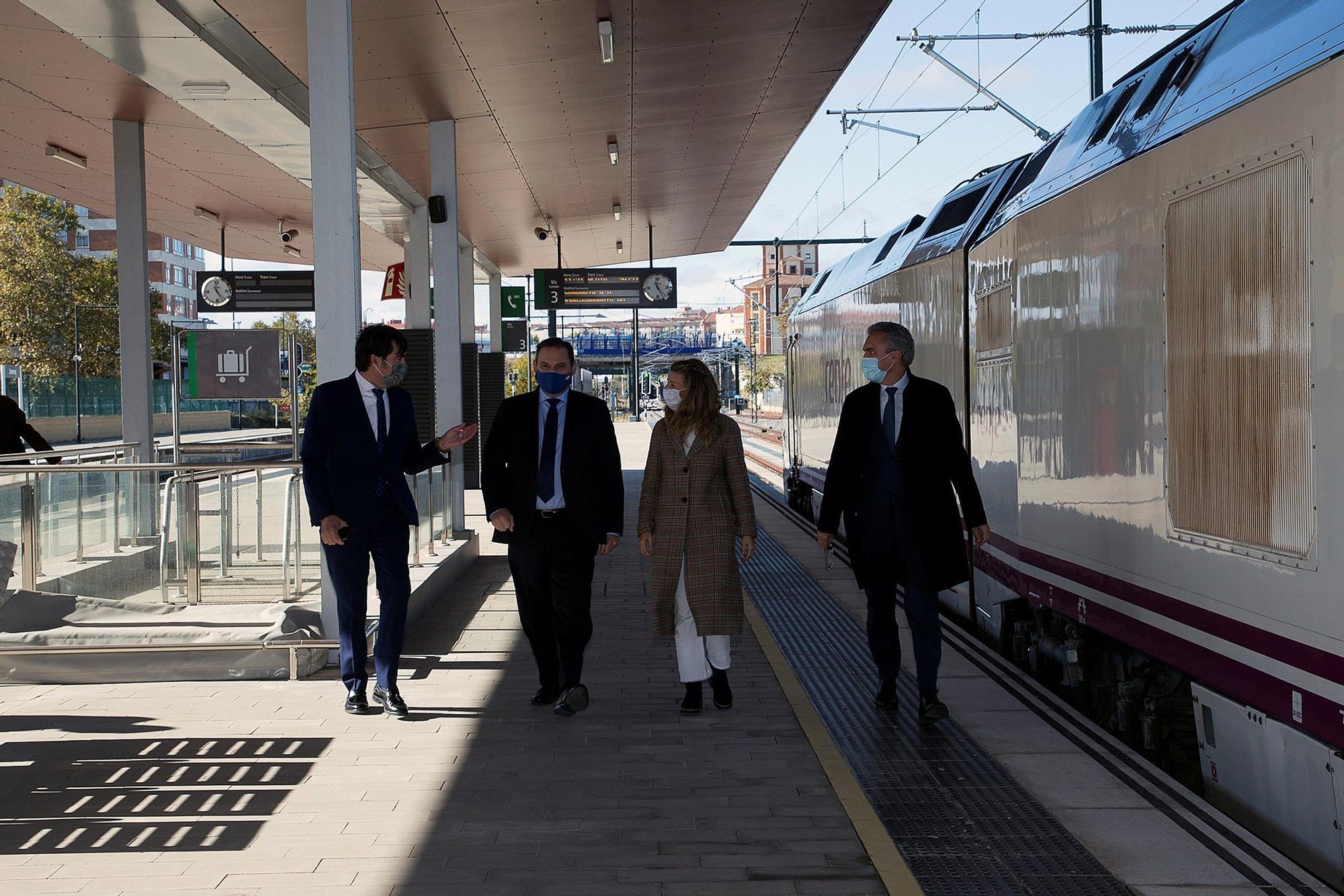 Inauguración del AVE entre Zamora y Otero de Sanabria