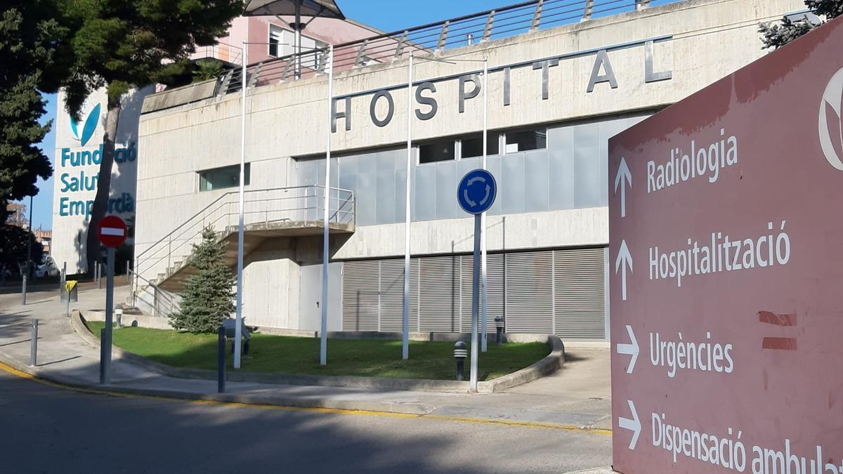 Exterior de l'Hospital de Figueres