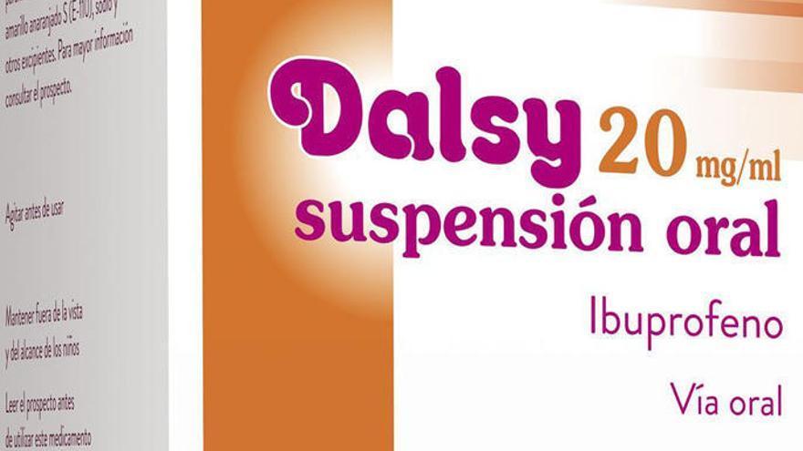 Sanidad admite que habrá problemas en el suministro de Dalsy hasta junio