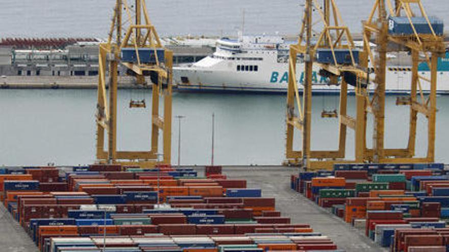 El tràfic ferroviari de contenidors del Port de Barcelona creix un 7,34% entre gener i setembre