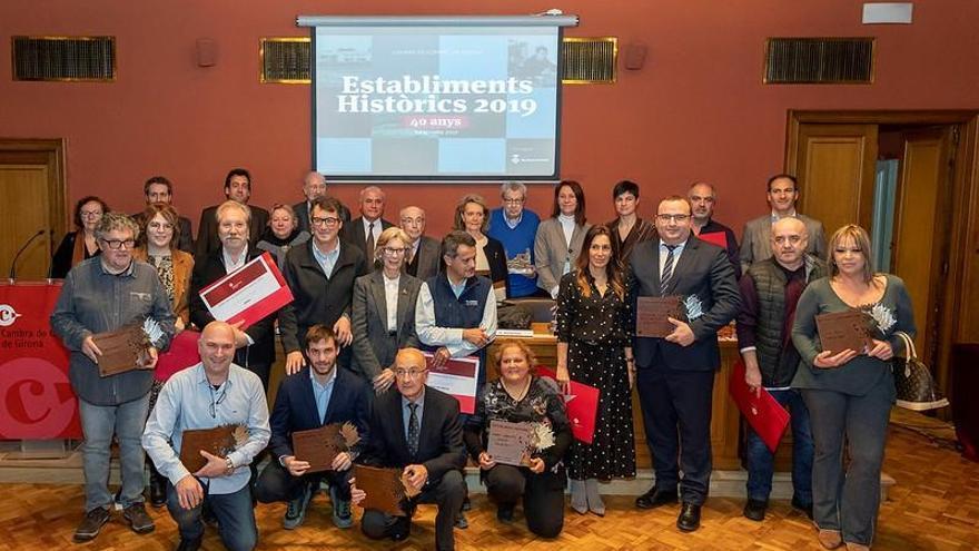 Premien Calçats Roig com a establiment històric