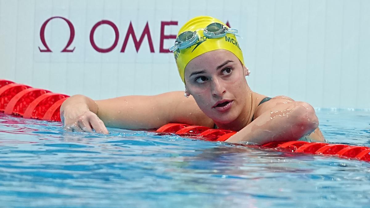 Kaylee McKeown bate todos los récords en natación.