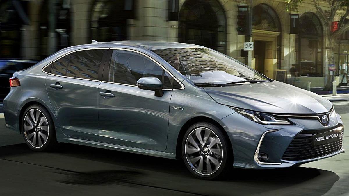 El sedan Corolla presenta moltes novetats tecnològiques