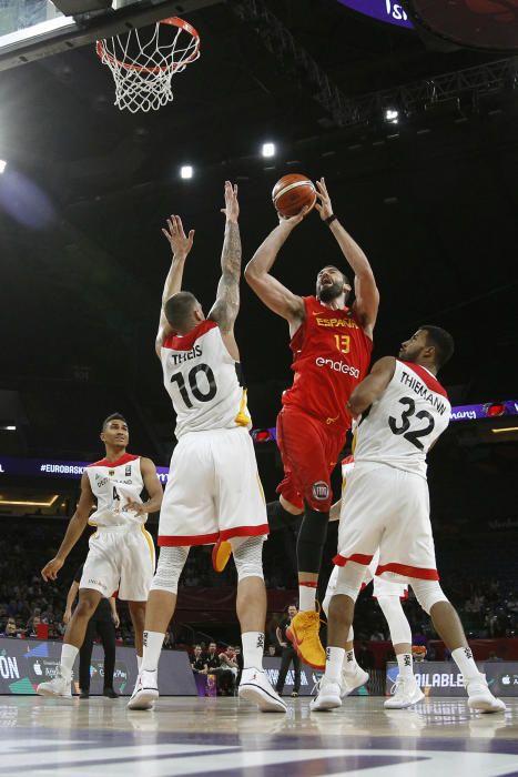Cuartos del final del Eurobasket: Alemania - España