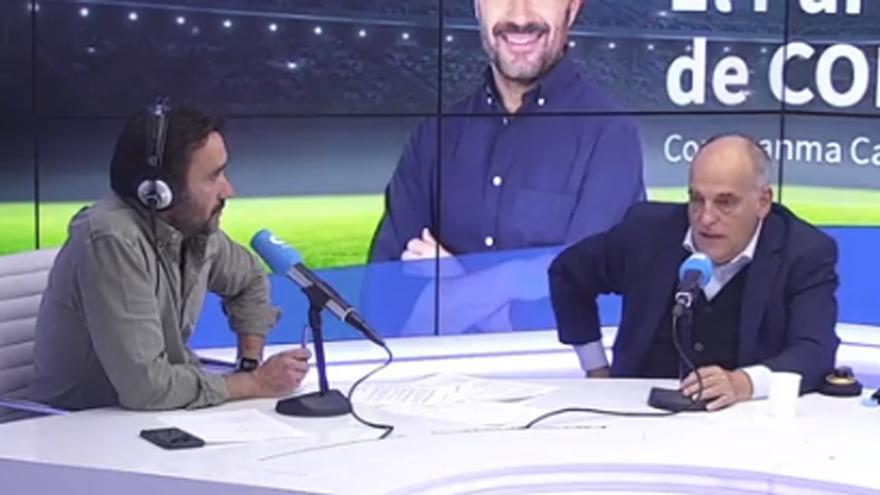 Nuevo rifirrafe entre Javier Tebas y Juanma Castaño