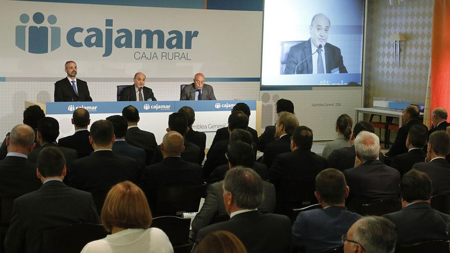 Cajamar obtiene un beneficio de  67,4 millones de euros, un 33,4 % más