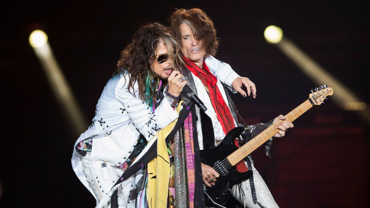 Steven Tyler y Joe Perry, de Aerosmith