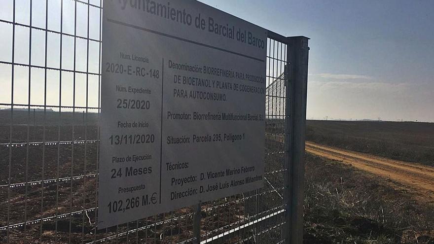 Los promotores de la biorrefinería de Barcial del Barco mantienen la calma a la espera de la compra del terreno