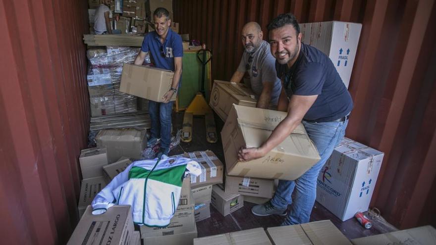 Un camión cargado de solidaridad para aliviar al pueblo sirio