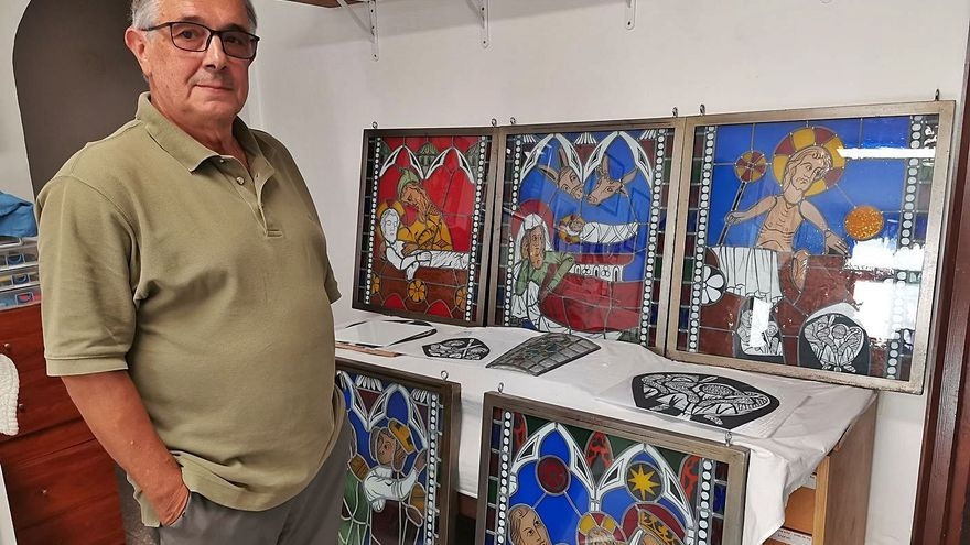 Miquel Orós ressegueix la història dels vitralls medievals de Castelló