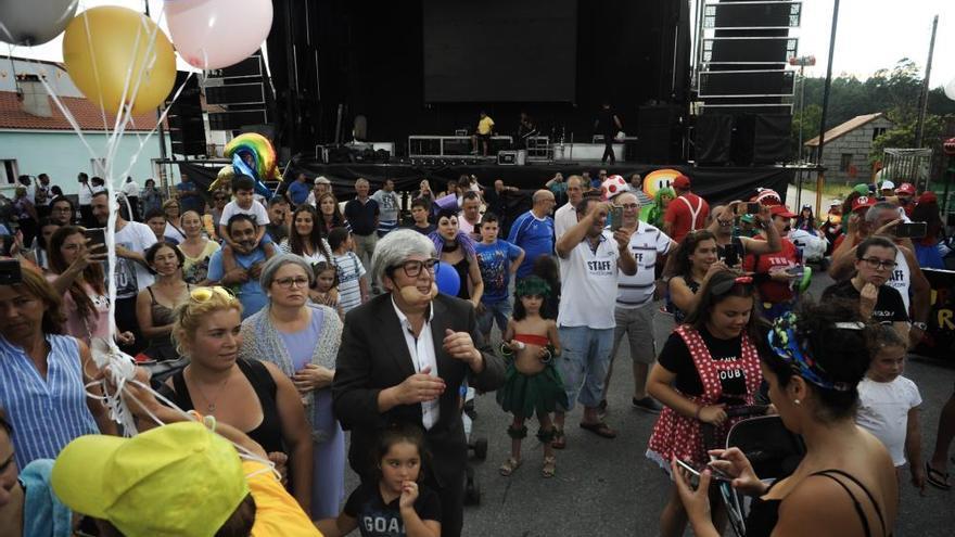 Castroagudín se divierte en San Roque