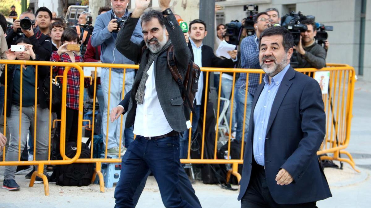 Els Jordis compleixen tres anys a la presó «de lluita i resistència»