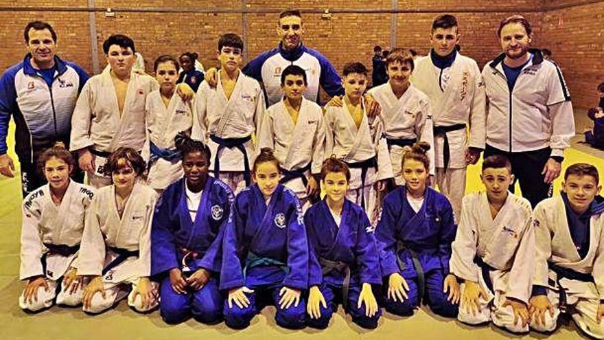 Els judokes de casa nostra sumen dinou medalles al català sub-18 i sub-15