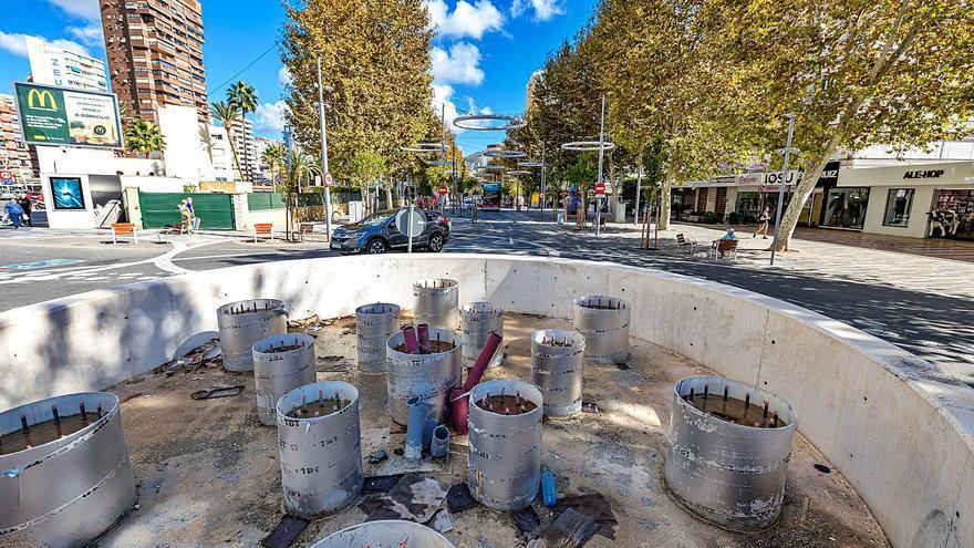 Benidorm no multará a la empresa por el retraso de dos años en la obra de la avenida del Mediterráneo