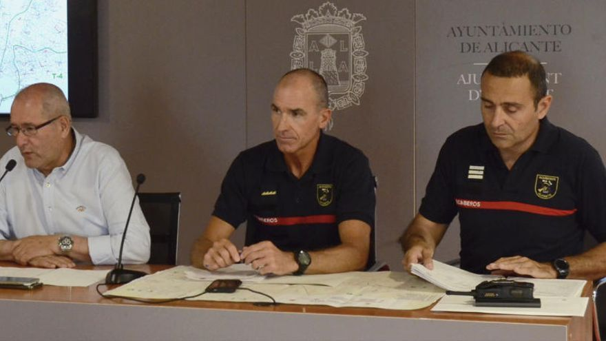 Suspenden las exhibiciones en el parque de Bomberos de Alicante por el coronavirus