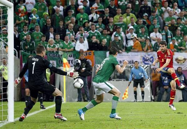 EL PARTIDO ESPAÑA 4- IRLANDA 0, EN IMÁGENES