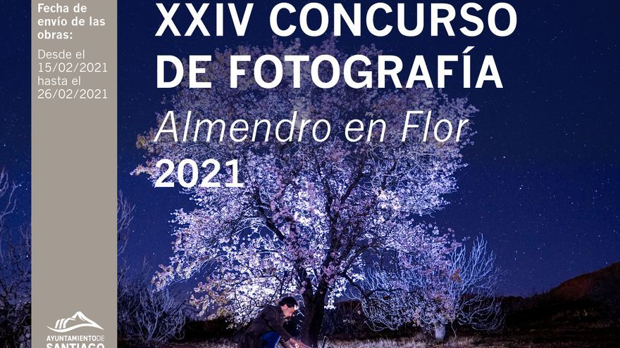El Ayuntamiento presenta la XXIV edición del Concurso de Fotografía Almendro en Flor 2021