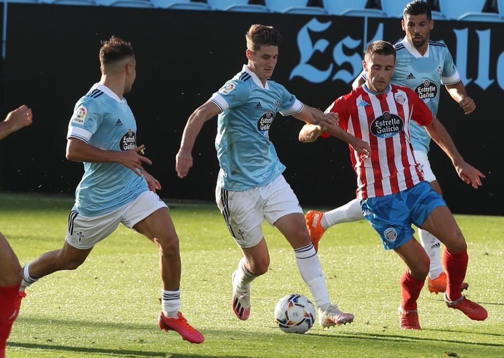 El partido frente al Lugo, primero de la pretemporada.