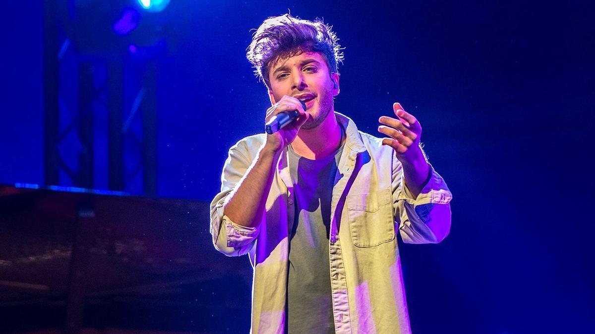 Blas Cantó, lejos de los favoritos en las apuestas para Eurovisión.