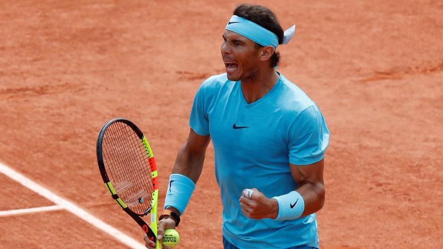Nadal borra a Schwartzman y se cita con Del Potro