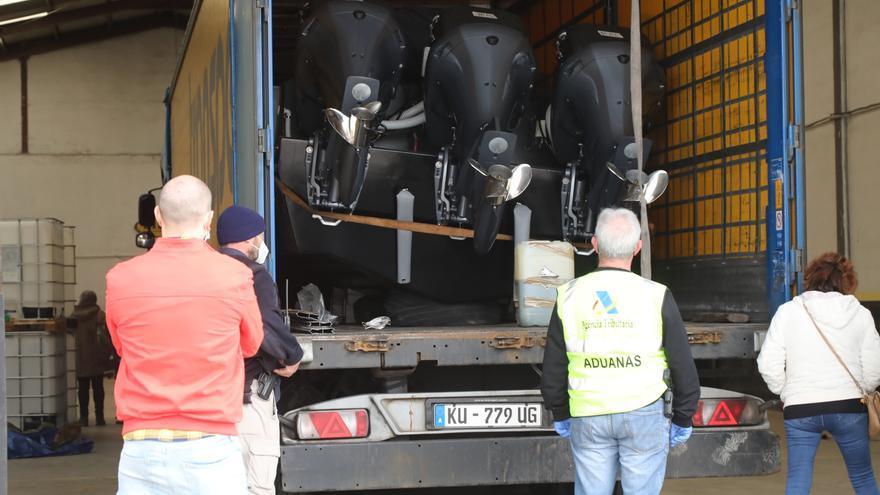 La presión al Estrecho reactiva otras narcorutas a Castellón
