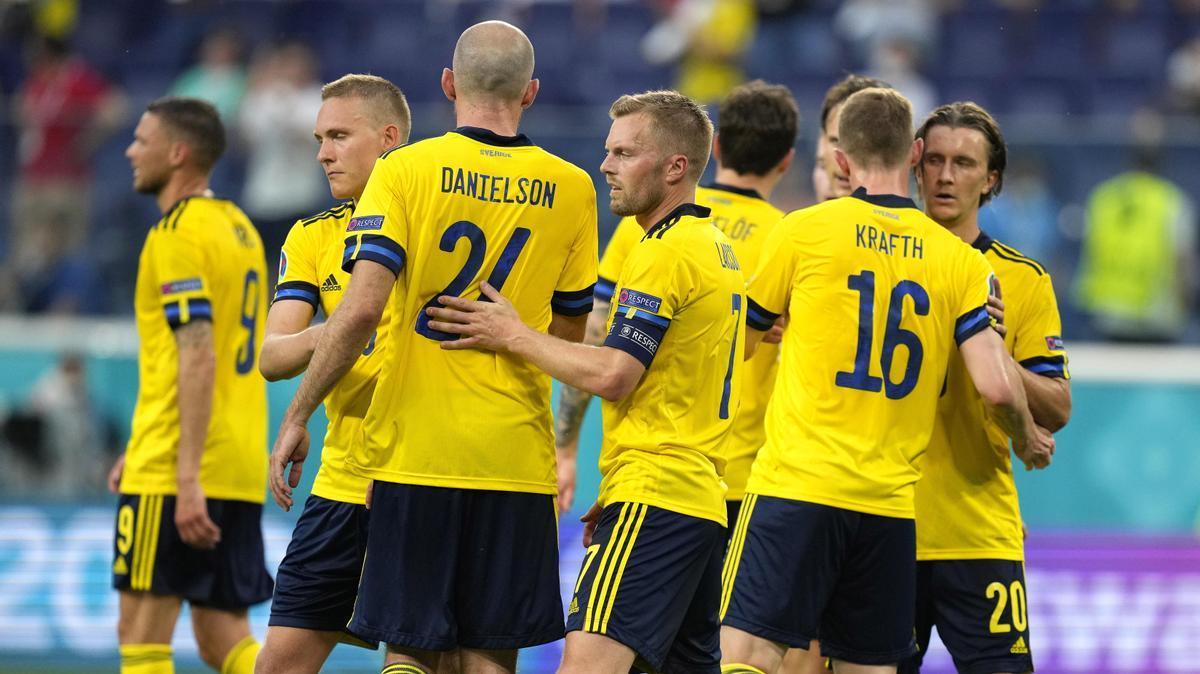 Suecia estará en los octavos de final como primera del Grupo E.