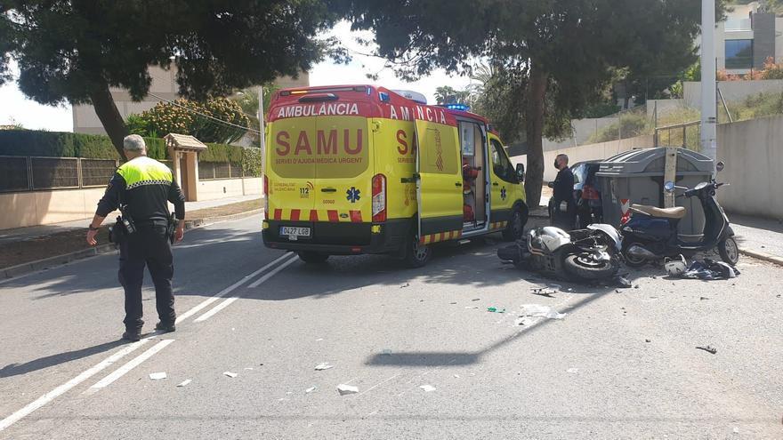 Un motorista muere tras una colisión con un coche en Vistahermosa