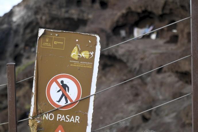 LAS PALMAS DE GRAN CANARIA 16-01-2019 LAS PALMAS DE GRAN CANARIA. Reportaje sobre el abandono de la cueva de Los Canarios. Reportaje sobre el abandono de la cueva de Los Canarios.  FOTOS: JUAN CASTRO
