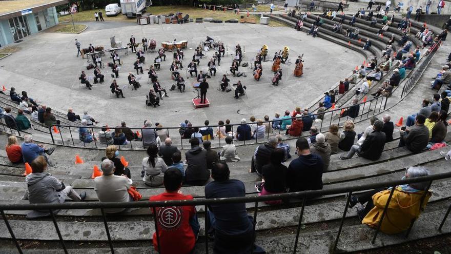 La Banda Municipal suspende su actuación de mañana en el parque de Santa Margarita