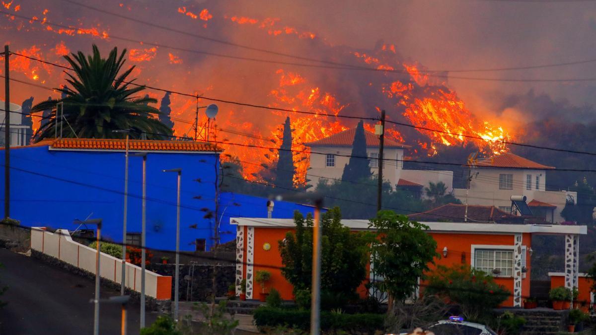 Erupció del volcà  'Cumbre Vieja'  de l'illa de La Palma