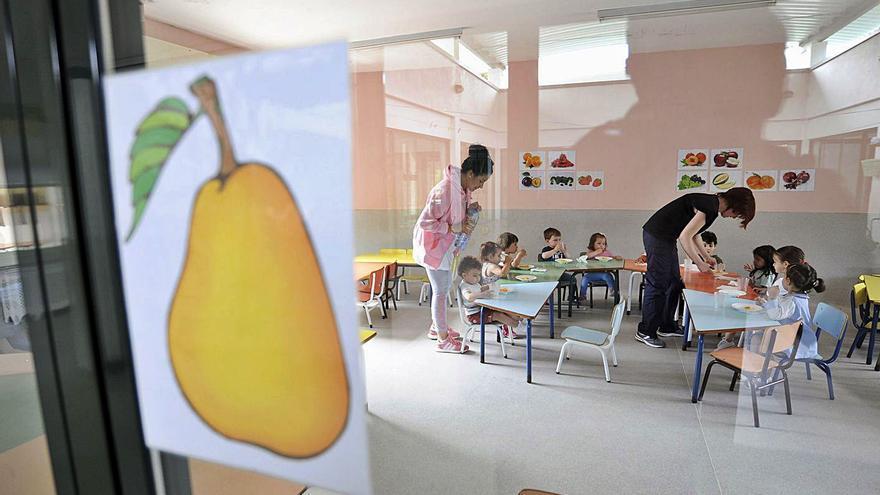 La red de centros Galiña Azul iniciará el próximo curso con 362 niños en la zona, una veintena menos