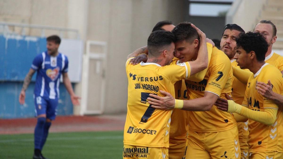 El UCAM Murcia vence en Lorca y el Betis Deportivo pierde ante el Recreativo Granada