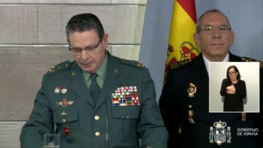 Dimite el número dos de la Guardia Civil por el cese de De los Cobos