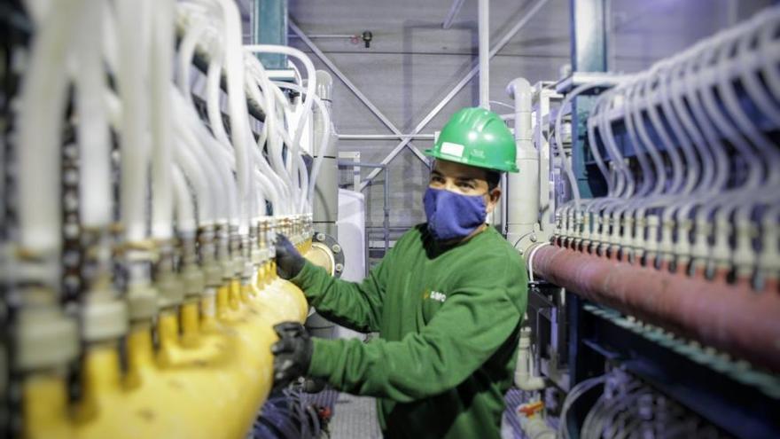 Una empresa química promueve una fábrica de desinfectantes en Arinaga