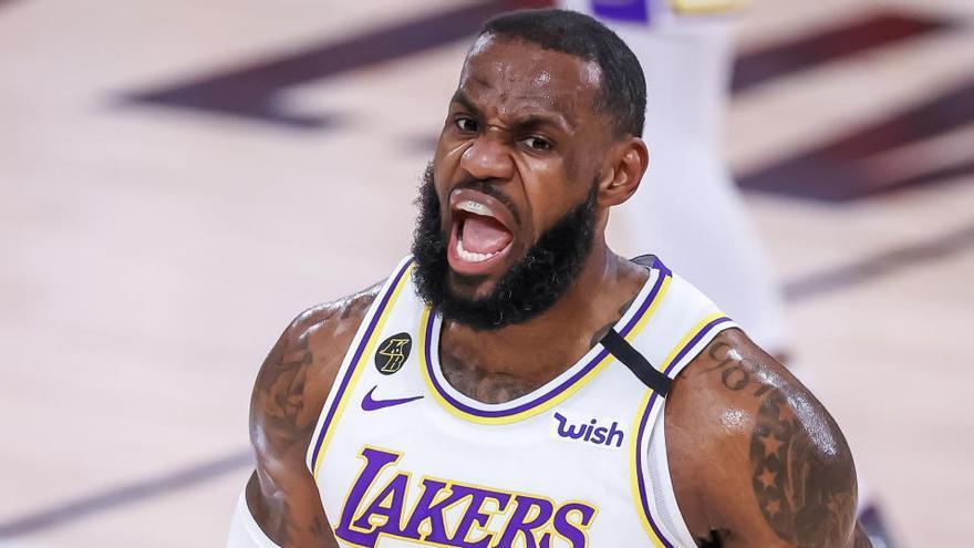 LeBron, el jugador con más presencias en los mejores quintetos de la NBA