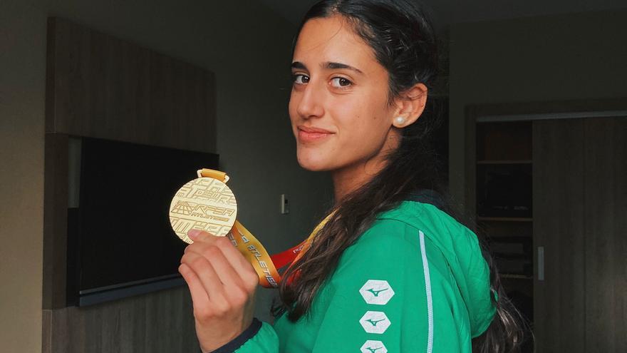 Teresa Santolaria, el entrenamiento como medicina