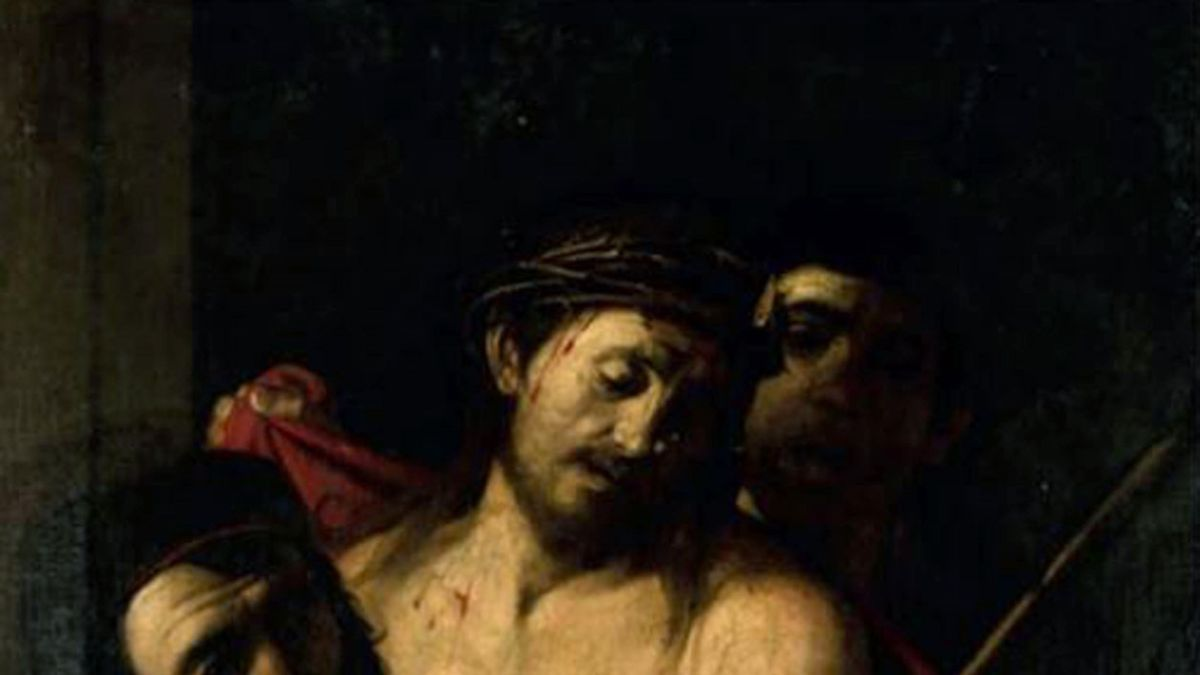 Image of possible Caravaggio on inspection