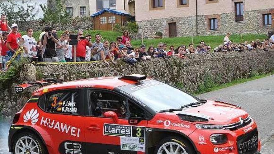 Cómoda victoria de José López en el Rally Villa de Llanes