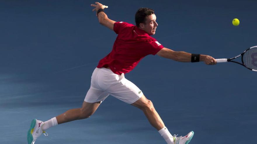 Así ha sido el Kyrgios - Bautista de la Copa ATP