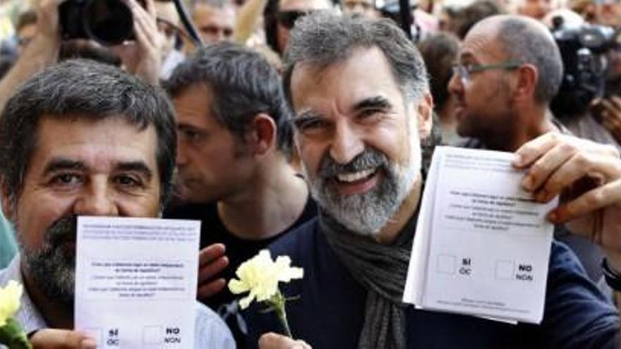 Jordi Sánchez i Jordi Cuixart, a Soto del Real amb Ignacio González o Jordi Pujol Jr