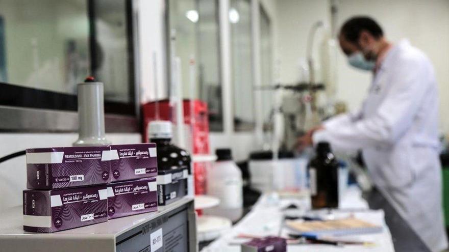 Un nuevo estudio español confirma los beneficios de usar remdesivir en pacientes covid-19