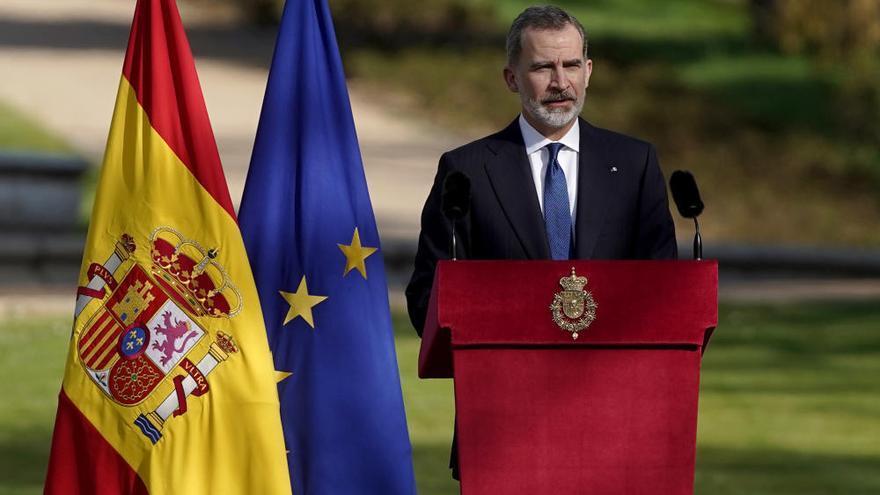 """El Rey, a las víctimas del terrorismo: """"Representáis la grandeza y la dignidad de la democracia"""""""
