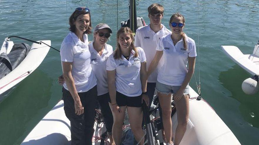 Marina Burriananova suelta amarras en la 16ª Sail Racing Palma Vela
