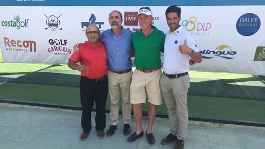 Colaboración entre la Escuela de Golf Elche y Miguel Ángel Jiménez