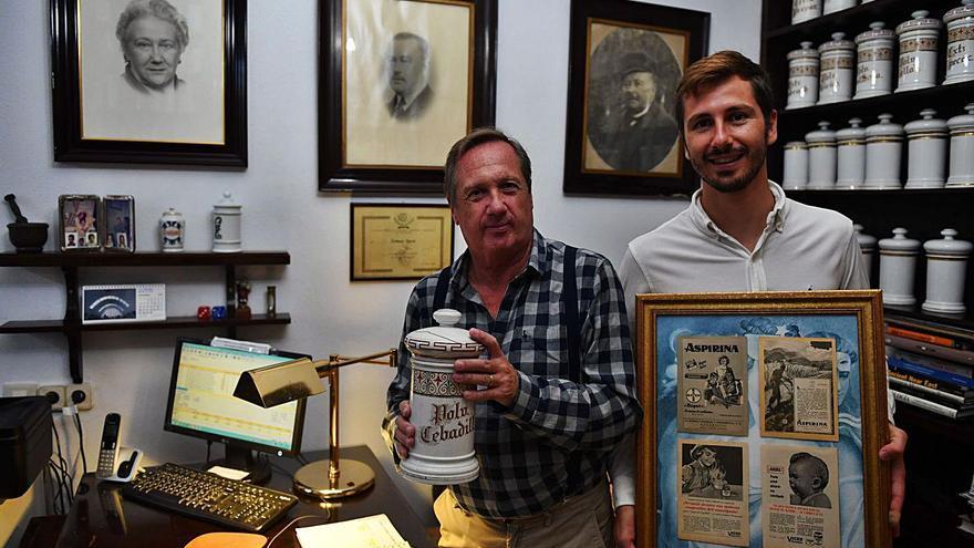 Los Ossorio, 150 años en la botica