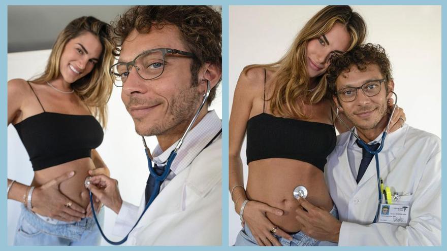El 'Doctor' Rossi anuncia que serà pare